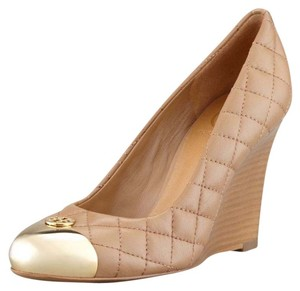 Tory Burch Heels Clay beige - gold Wedges