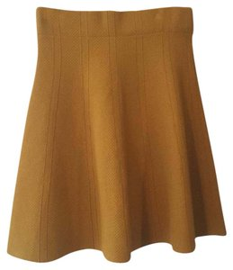 Zara Mini Skirt Yellow