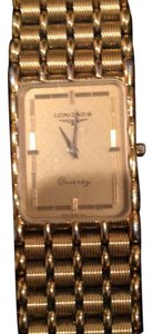 Longines Mens Longines Luxury Goldtone Timepiece