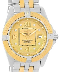 Breitling Breitling Cockpit Ladies Steel Yellow Gold Diamond Watch D71356