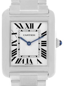 Cartier Cartier Tank Solo Small Stainless Steel Ladies Watch W5200013