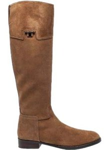 Tory Burch Riding Suede Tobacco suede Boots