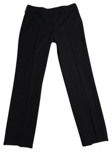 Piazza Sempione Italy Dress Wool Straight Pants BLACK