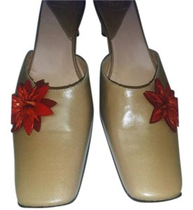 Other Espace Pumps Tan Mules