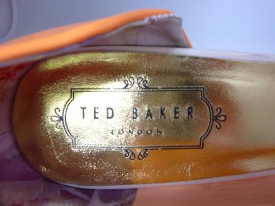 Ted Baker Patent Leather Orange Pumps