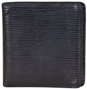 Louis Vuitton Epi Leather Porte Billets 6 Cartes Credit Bifold Wallet M63312