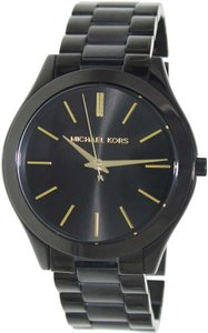 Michael Kors Michael Kors Women's Runway MK3221 Black Stainless Watch