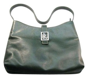 Ralph Lauren Satchel in Deep Green