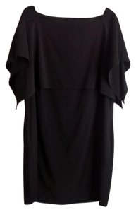 New Directions short dress Black Cape Coctail Above Knee on Tradesy