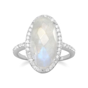 Other NEW Gorgeous Rainbow Moonstone Ring