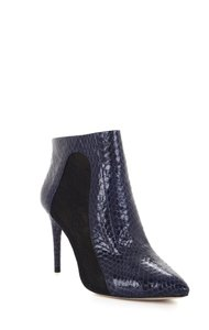 BCBGMAXAZRIA Lace Lace Dark ink/black Boots