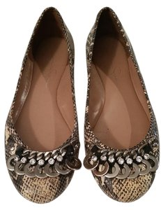 Jessica Simpson Faux Snake Skin Flats