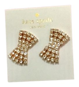 Kate Spade Kate Spade Sparkling Bow Earrings Stunning!