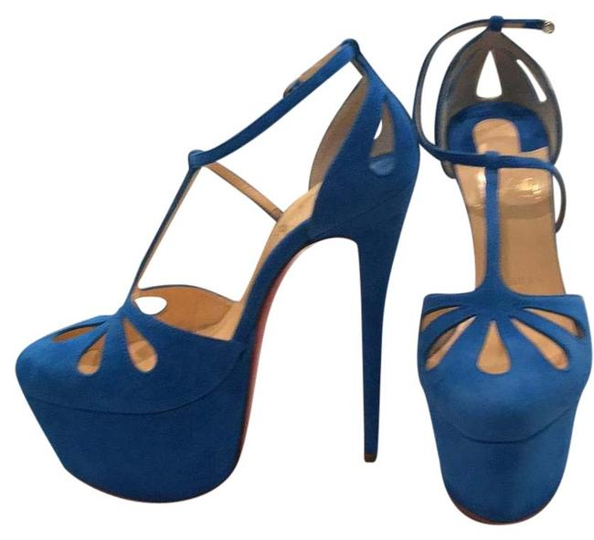 Christian Louboutin New Platforms Size US 6 Regular (M, B) Christian Louboutin New Platforms Size US 6 Regular (M, B) Image 1