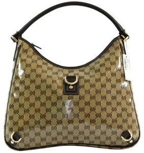 Gucci Swing Swing Handbag 265695 Tote in Brown