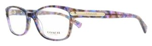Coach Coach Confetti Purple Glasses