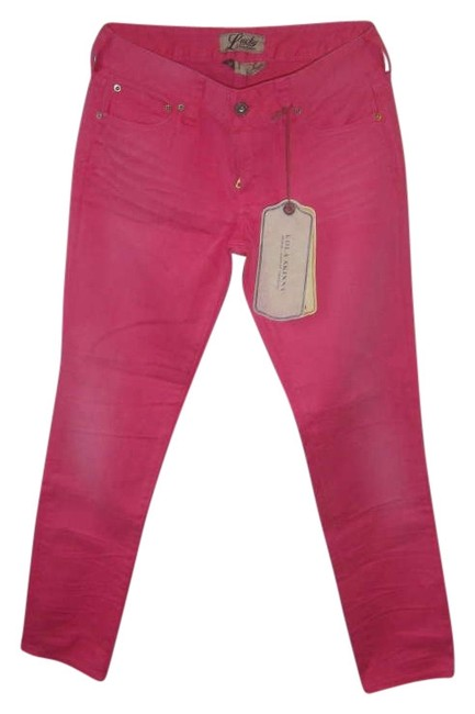 Preload https://item2.tradesy.com/images/lucky-brand-pink-crop-midrise-curvy-capri-pants-skinny-jeans-size-26-2-xs-202751-0-0.jpg?width=400&height=650