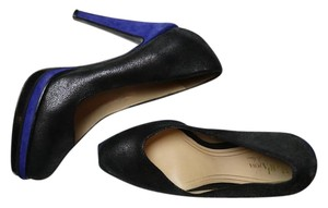 Cole Haan Nike Air Maria Sharapova Classic Royal Blue Black Pumps