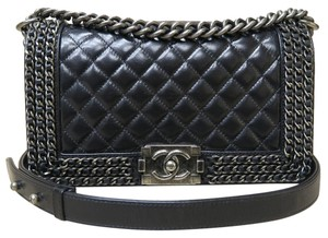 Chanel Medium Chained Boy Shoulder Bag