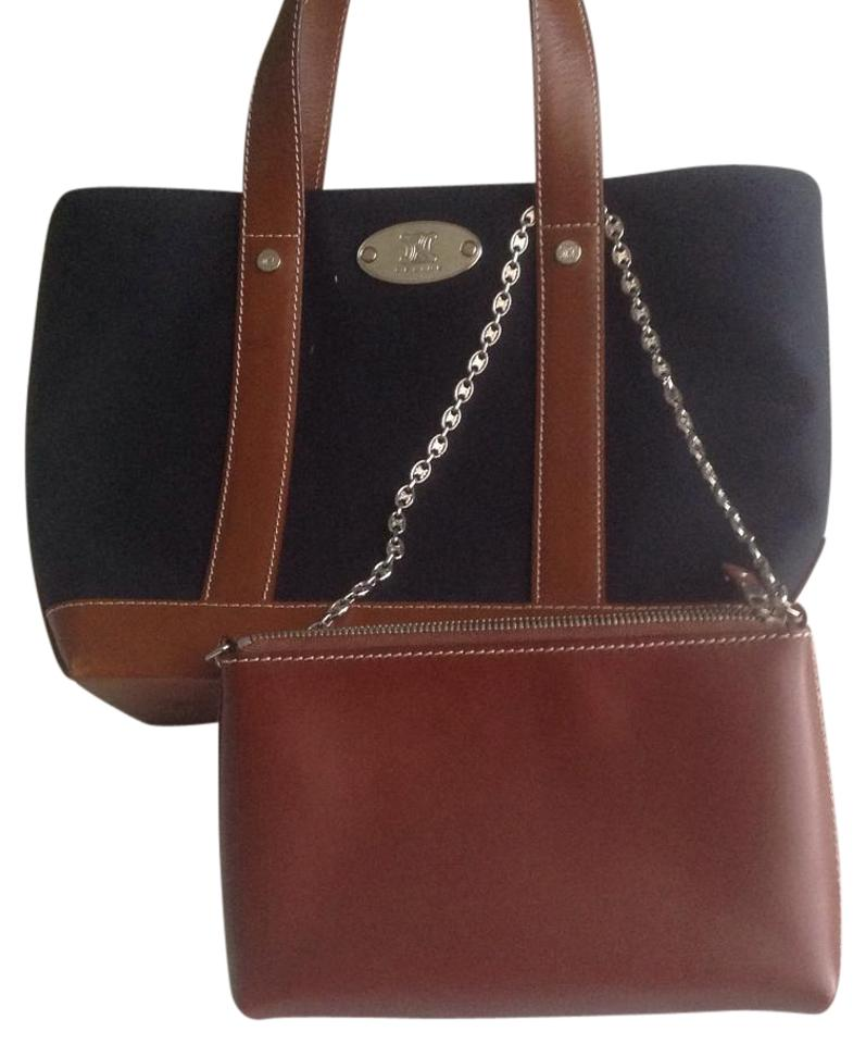and Tote Céline Canvas Leather Black pwzfqxYE