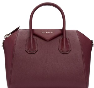 Givenchy Satchel in Oxblood Red