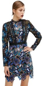 self-portrait Classy Night Out Floral Fitted Dress