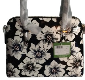 Kate Spade Satchel in Black floral