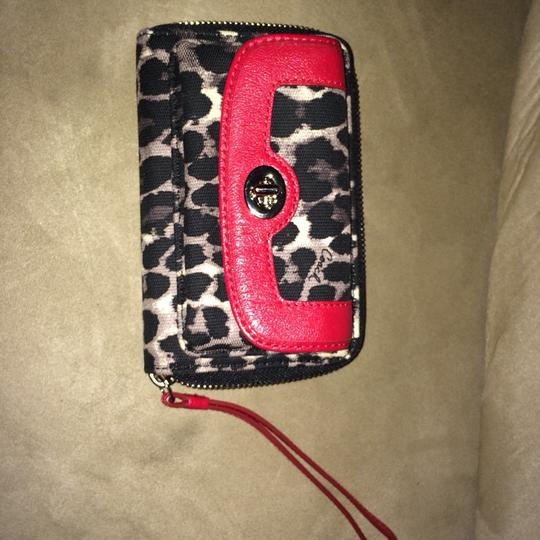 Coach Coach Animal Print Cell Phone Wallet/Wristlet