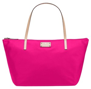 Kate Spade Nylon/leather Tote in Sweetheart Pink
