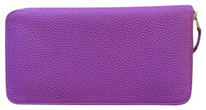 Hermès Hermes Purple Long Wallet