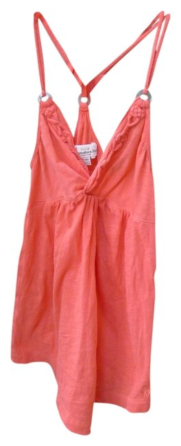 Preload https://item2.tradesy.com/images/abercrombie-and-fitch-coral-tank-topcami-size-2-xs-2027576-0-0.jpg?width=400&height=650