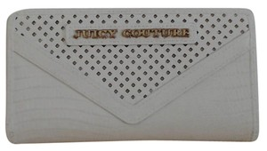 Juicy Couture Reptile Embossed Leather Continental Bi-Fold Wallet/Clutch
