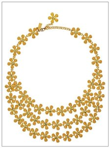 Kate Spade Marguerite Triple Row Necklace WBRU0050 with Gift Box