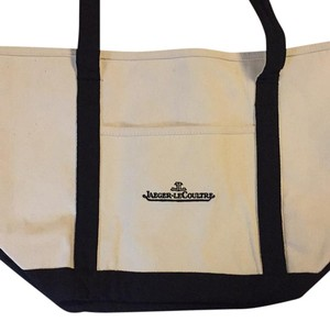 Jaeger-LeCoultre Tote in Beige With Black