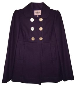 Juicy Couture Wool Designer Winter Pea Coat
