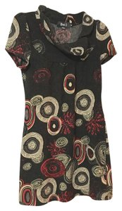 Mickie D short dress Charcoal Black Red on Tradesy