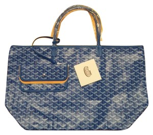 Goyard St Louis St Louis Tote in Light Blue