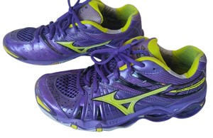 Mizuno 9 Running Puprle/Yellow Athletic