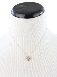 Tiffany & Co. Silver Flower Necklace