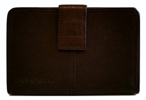 Fossil Fossil Wallet Brown Leather Two Compartments