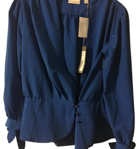 Eva Mendes New York & Company Top Royal blue