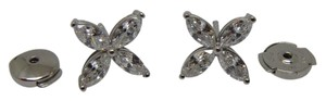 Tiffany & Co. VICTORIA(R)PLATINUM & DIAMOND Earrings Large