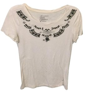 American Eagle Outfitters T Shirt Ivory