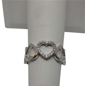 Tiffany & Co. Tiffany Co. Diamonds 18k White Gold Square Band Ring