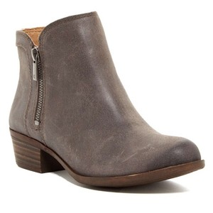 Lucky Brand Distressed brown Boots
