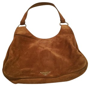 Prada Suede Hobo Bag
