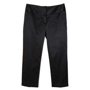 Tailored Stretchy Comfortable Capris Black