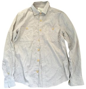 Threads 4 Thought Button Down Shirt Oatmeal