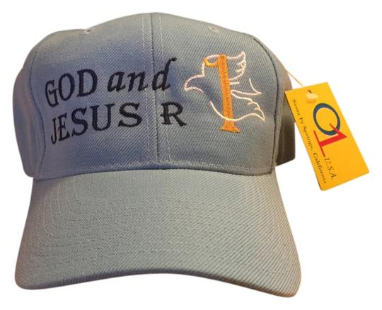 "Other ""God and Jesus R #1"" Small - Medium Baseball Cap (Size 7-3/8) [ MissSundayBest Closet ]"