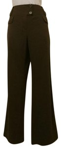 Cato Straight Pants Brown